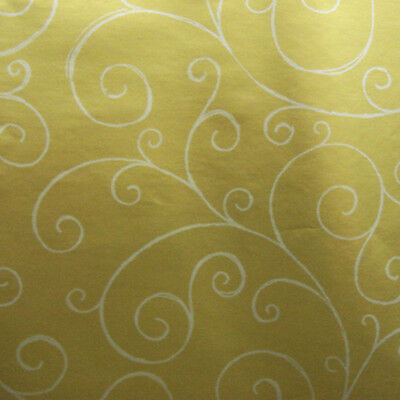 Gold, silver swirl Gift Wrapping paper, counter roll, gift wrap, 500mm x 50m