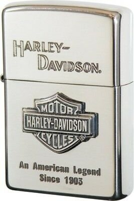 Zippo Harley Davidson HDP-09 Limited Edition Silver Metal Logo 1903 Oil lighter