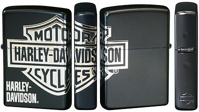 New Zippo Harley Davidson HDP-29 Limited Edition Black Matte Finish Oil lighter