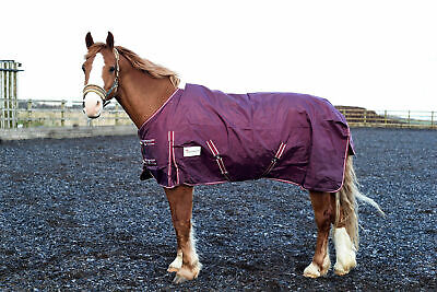 EQP Lightweight No Fill Waterproof 1000D Ripstop Horse Turnout Rug