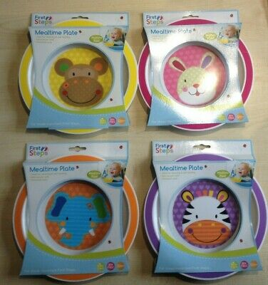 First Steps Jungle Pals Mealtime Bowl Food 12mnth+ BPA Free Dishwasher Microwave