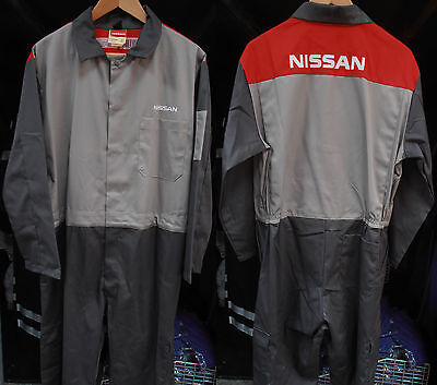 Grey Nissan Overalls - Small to Large Sizes
