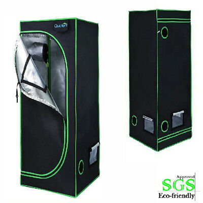 "Quictent Ⅱ 16""x16""x48"" Grow Tent Reflective Mylar Room Upgraded EN71-3 Approved"