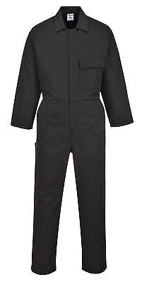 Mens Portwest Standard PPE Protection Industrial Work Boilersuit Coverall- C802