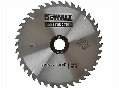 DEWALT - Circular Saw Blade  235 x 30mm x 40T Series 30 General Purpose