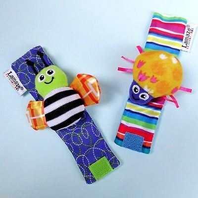 Lamaze wrist rattles for infant/baby Bracelet Set Hand Finder Wristband in UK