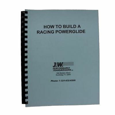 """JW Performance Trans 92077 Transmission Part """"HOW TO BUILD"""" A RACING POWERGLIDE"""