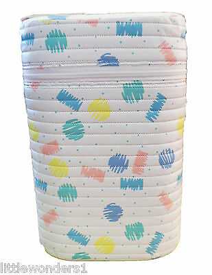 Twin/Double Insulated Bottle Holder Insulator Pastel Design For Slim Bottles