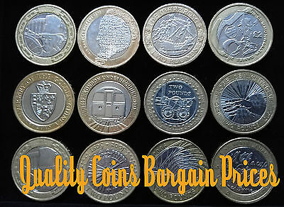 Wide Selection of Commemorative Two Pound Coins £2 Great Prices