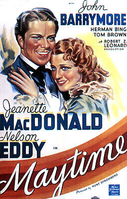 Maytime (1937) Nelson Eddy And Jeanette Macdonald Musical John Barrymore