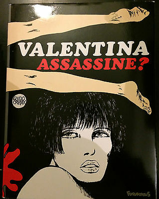 Valentina Assassine? Guido Crepax Hardback Graphic Novel 4 Futuropolis FRENCH