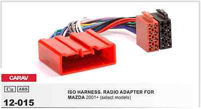 CARAV 12-015 ISO harness adapter for car audio MAZDA 2001+ (select models)