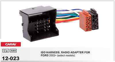 CARAV 12-023 ISO harness adapter for car audio FORD 2003+ (select models)