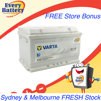Varta Car Battery E38 'Silver' VW Golf 574 402 075