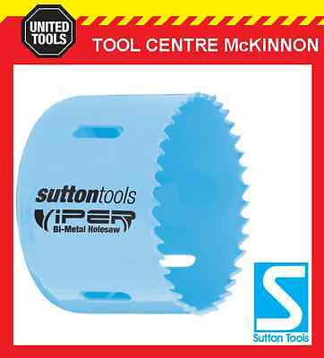"SUTTON VIPER 63mm (2-1/2"") BI-METAL HOLESAW FOR WOOD & METAL - 32mm DEPTH"
