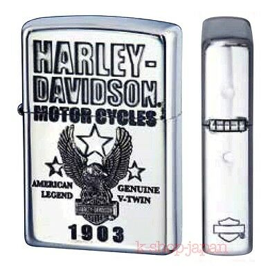 New 2016 ZIPPO Lighter Harley Davidson Limited Model Silver Plated HDP-57 Star
