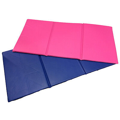 NEW 1x Folding Nursery Sleep Mat Blue / Pink for Children & Toddlers