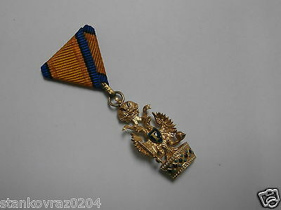 Austrian , Gold Order of the Iron Crown miniature - in gold