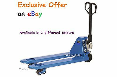 £239.00 incl VAT, NEXT DAY Delivery NEW ASSEMBLED Euro Hand Pallet Truck
