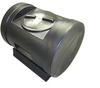 New 12-cu ft Recycled Plastic Tumbler Composter Storage Container Compost Bin
