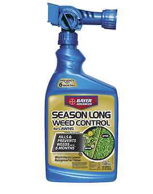 New 24-oz Outdoor Season Long Weed Control Preventers Killer Lawns Chickweeds