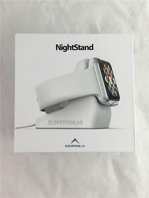 NEW ElevationLab NightStand White Apple Watch Charging Stand NS-106