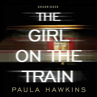 The Chicas encendido The Tren by Paula Hawkins (Audiolibro, CD) 9781846574399