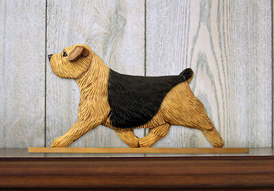 Norfolk Terrier Sign Plaque Wall Decor Black & Tan
