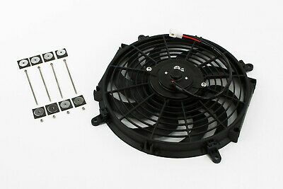 "Stoney Racing Electric Radiator Fan 120W 160W 220W 8"" 9"" 12"" 14"" 16"" 12v Slim"