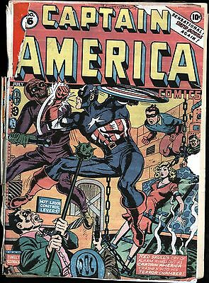 Captain America Comics #16 Golden Age Timely 0.5