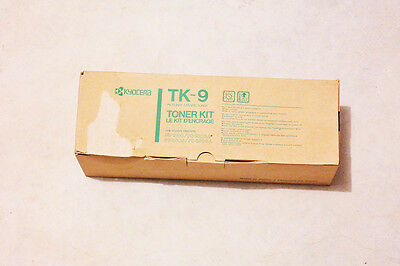 Kyocera Cartridge TK-9 Genuine Black Toner FS-1500 / FS-3500