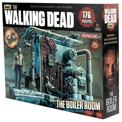 McFarlane Toys The Walking Dead Building Set - The Boiler Room