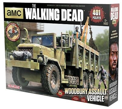 McFarlane Toys The Walking Dead Building Set - Woodbury Assault Vehicle