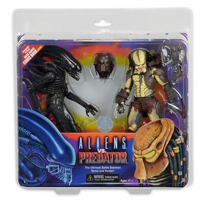 NECA Alien vs. Predator - Renegade vs. Big Chap Actionfiguren 2-Pack