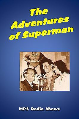 The Adventures of Superman   120  (OTR) Old Time Radio Shows MP3 on a single CD