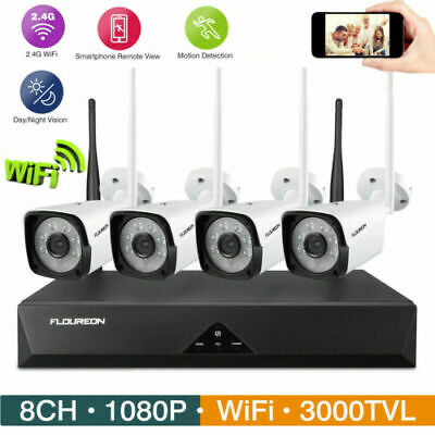4K WiFi Wireless FHD 1080P Home Theater 4000Lumen LED Projector HDMI+3D Glasses