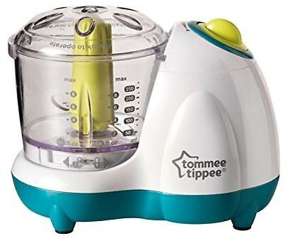 Tommee Tippee Explora Baby Toddler Small Handy Food Blender Processor Kit White