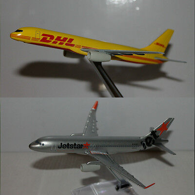 DHL Boeing 757-200F and Jetstar Airbus 320Neo.