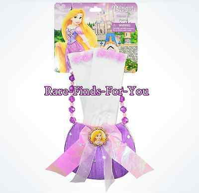 Disney Parks Princess Rapunzel Purse and Gloves Dress-Up Costume Play Set (NEW)