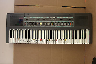 vintage  Casio CT 620 Casiotone Digital Piano Keyboard