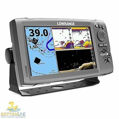 Lowrance HOOK 9 GPS / DownScan Imaging - with HDI CHIRP skimmer transducer