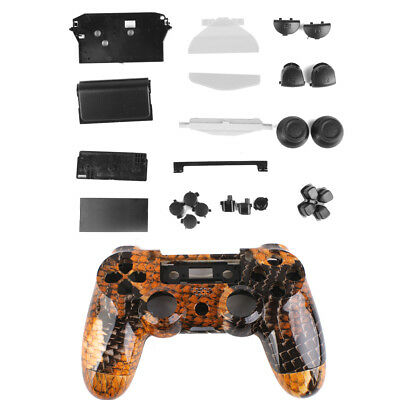 Dragon Controller Shell Housing Case Kit w/ Buttons for PlayStation4 PS4