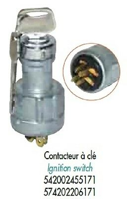 Inter Contact A Cle Toyota 542002455171 Piece Detachee Chariot Elevateur