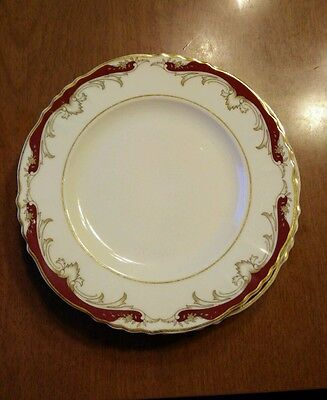 5 Vintage Syracuse China Radcliffe Federal Shape Bread and Butter Plates