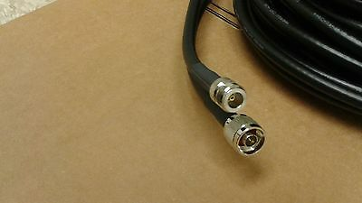 US MADE   LMR-240 N Male to N Female  50 ohm Antenna Ham Radio Cable 25FT