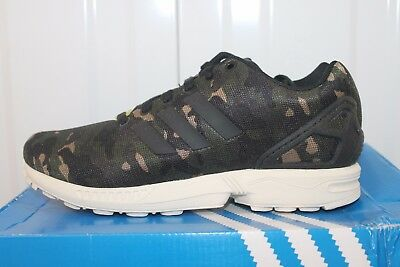 separation shoes 651d5 3bc0f ADIDAS ZX FLUX MILAN CAMO RUNNING M21062 sz..6...6,
