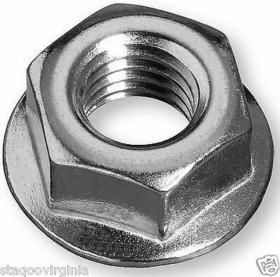 Flange Nuts M4 M5 M6 M8 M10 M12 High Tensile Serrated Non pack x 10