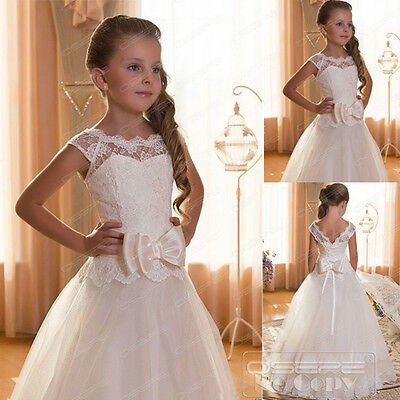 Flower Girl Dresses Communion Pageant Wedding Dress Graduation Bridesmaid Dress