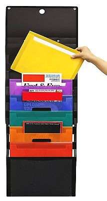 Wall Mount Holder Home Office Document File Mail Folder Letter Organizer Storage
