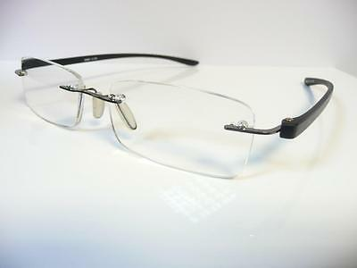 New Mens Rimless Reading Glasses +1+1.25 +1.5+1.75+2+2.25 +2.5+2.75+3.5 S203